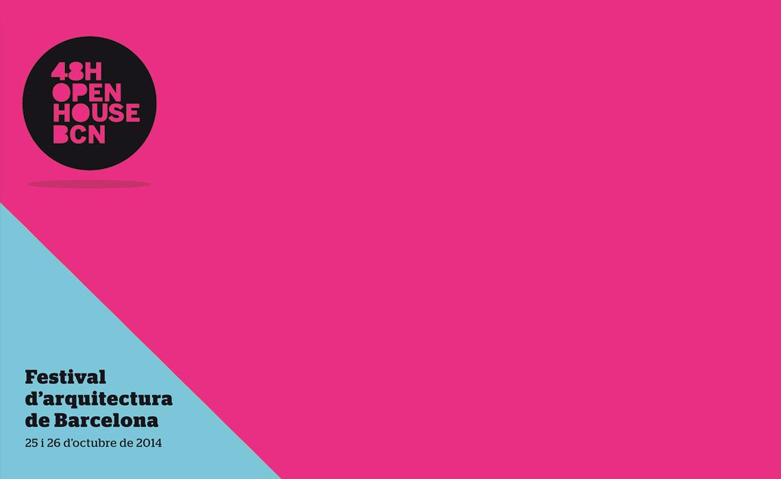Festival d'Arquitectura 48h Open House 2013 patrocinat per CAFUR