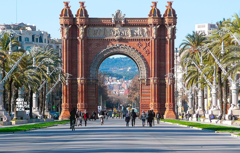Edificis amb història: L' Arc de Triomf