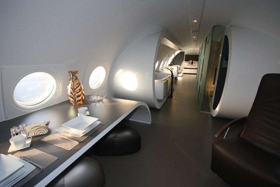 avions reconvertits en cases