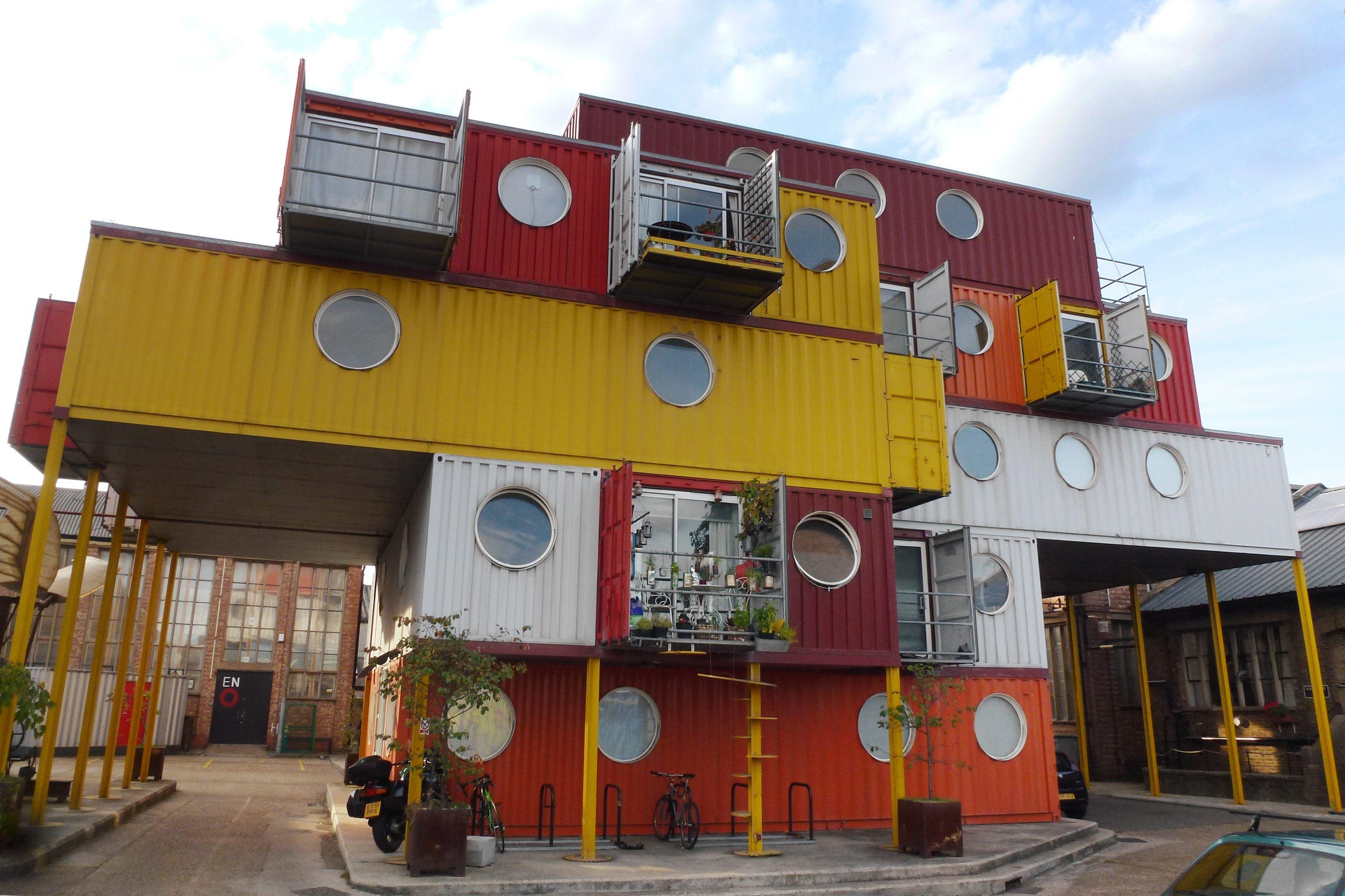 Contenedores marítimos como viviendas