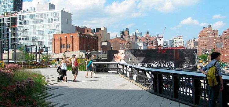 El High Line a Manhattan
