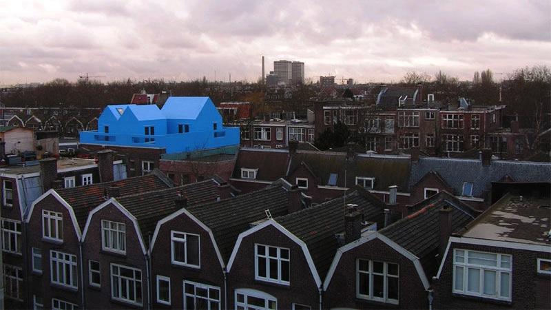 cases i barris sencers en un terrat