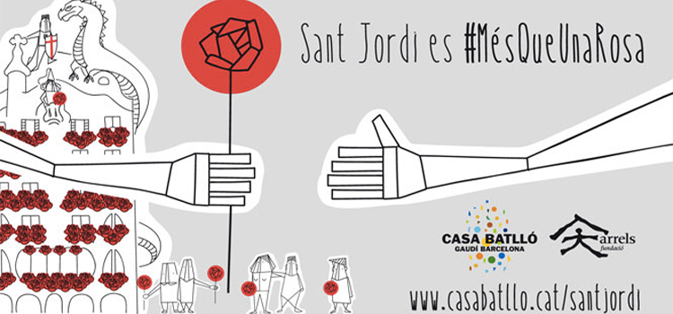 Sant Jordi 2016 : Casa Batlló solidària
