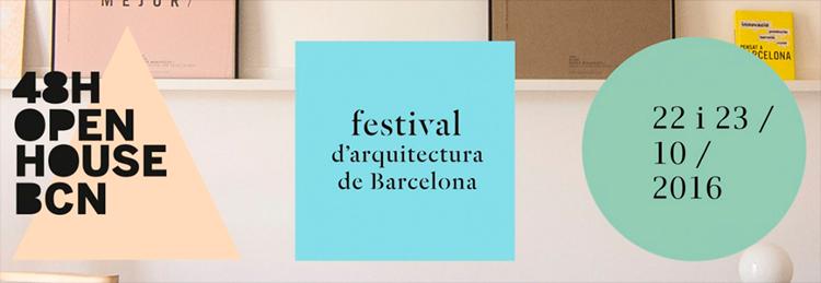 48H Open House Barcelona – 22 i 23 d' Octubre de 2016