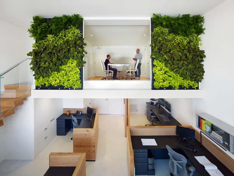 els jardins verticals