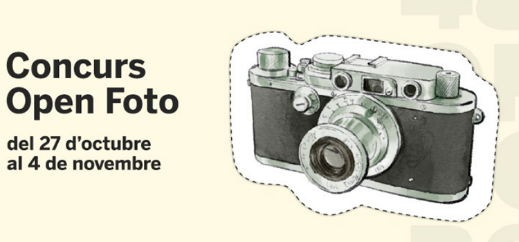 CAFUR patrocina el Concurs Fotogràfic Open Foto '18