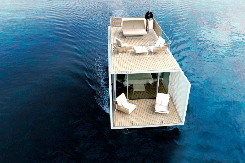 punta de mar un hotel flotant