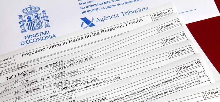impuesto de la renta ejercicio 2018