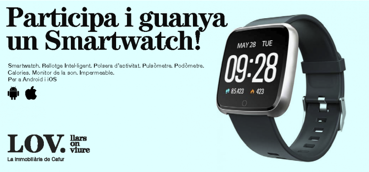 😲🔝👉 Sorteig 👈🔝😲 ⌚️ Guanya 1 smartwatch ⌚️