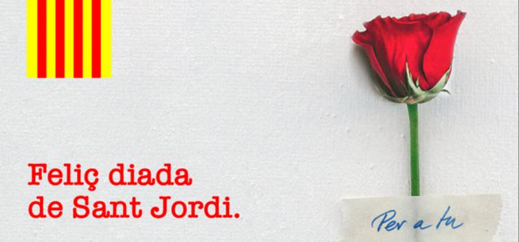 🌹 Feliç diada de Sant Jordi: Roses i literatura que ens encoratgen a tirar endavant!